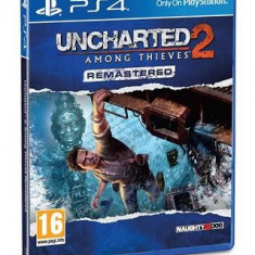 Uncharted 2 Among Thieves Remastered Ps4 - Jocuri PS4, Actiune, 16+