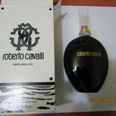 TESTER CAVALLI WOMEN NERO ASSOLUTO 75 ML--SUPER PRET, SUPER CALITATE! - Parfum femeie Roberto Cavalli, Apa de parfum