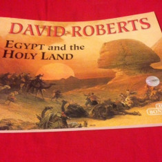 DAVID ROBERTS, EGYPT AND THE HOLY LAND, Album cu reproduceri