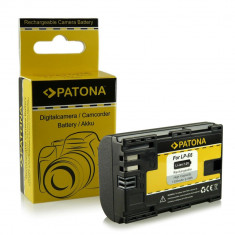 Acumulator compatibil CANON LP-E6, EOS 5D Mark II, cu InfoChip marca Patona,, Dedicat
