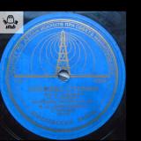 Multumim, Stalin disc 10'' patefon  gramofon  URSS raritate!