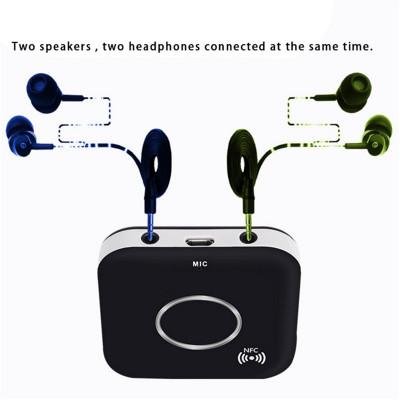 Receiver Receptor Audio Bluetooth, NFC Bluetooth 4.1, 2 iesiri audio, microfon foto