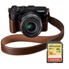 Canon EOS M3 Kit EF-M 18-55 premium KIT - Aparat Foto Mirrorless Canon, Kit (cu obiectiv)