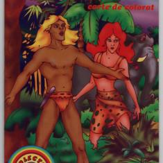 Tarzan carte de colorat