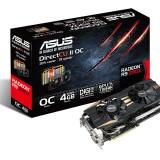 Placa video ASUS AMD R9290X-DC2OC-4GD5, R9 290X, PCI-E, 4096MB GDDR5, 512 bit, 1050 MHz, 5400 MHz, 2*DVI, HDMI, DP, OC, DirectCU II, FAN bulk - Placa video PC Asus, PCI Express, 3 GB, Ati