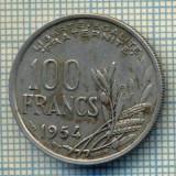 7507 MONEDA- FRANTA - 100 FRANCS - anul 1954 B -starea ce se vede, Europa