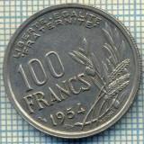 7508 MONEDA- FRANTA - 100 FRANCS - anul 1954 -starea ce se vede, Europa