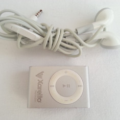 IPod Shuffle 2GB A1204 2gen cu casti originale Apple original mp3 player muzica, 2nd generation, Gri