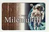 ROM 078  CARTELA ROMTELECOM  MILENIUL III