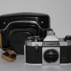 Praktica PL nova I - Body M42 - 1967 + Husa + Patina blitz - Aparat Foto cu Film Praktica, SLR