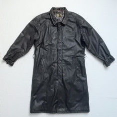 Palton piele naturala Rene Styled by Renaldo Echtes Leder; marime 52; ca nou - Palton barbati, Culoare: Din imagine