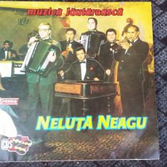 NELUTA NEAGU - MUZICA LAUTAREASCA, VINIL FARA ZGARIETURI .