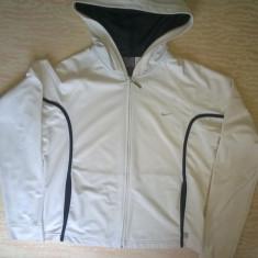Bluza sport cu gluga, dama, originala NIKE, mar.M - Hanorac dama Adidas, Marime: M, Culoare: Alb, Poliester