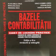BAZELE CONTABILITATII Caiet de lucrari practice - Victor Munteanu editia a III-a - Carte Contabilitate