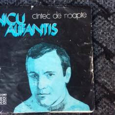 NICU ALIFANTIS  CANTEC DE NOAPTE, VINIL