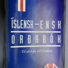 Dictionar islandez englez - Islensk - Ensk - Ordabok (Reykjavik, 1994)