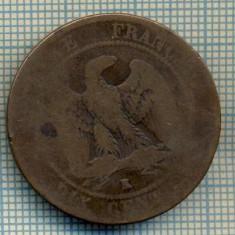 7499 MONEDA- FRANTA - 10 CENTIMES - anul 1856 K -starea ce se vede, Europa