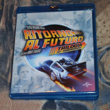 Film - Back To The Future Trilogy [3 Filme, 4 Discuri Blu-Ray], Romana - Film SF Altele