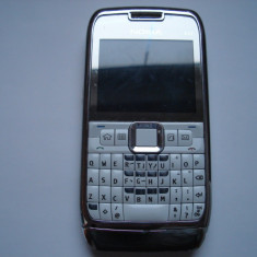 Nokia E71 chinezesc alb defect - pentru piese - Telefon mobil Nokia E71