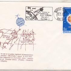 Bnk fil Plic ocazional Telstar -1 - Botosani 1987, Romania de la 1950