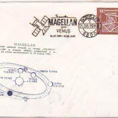 Bnk fil Plic ocazional Sonda Magellan - Botosani 1989, Romania de la 1950, Spatiu
