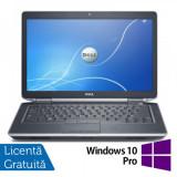 Laptop DELL Latitude E6430, Intel Core i5-3210M, 2.5GHz, 4GB DDR3, 320GB SATA, DVD-RW + Windows 10 Pro, 2501-3000Mhz, Diagonala ecran: 14