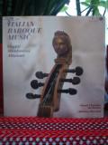-Y-  ITALIAN BAROQUE MUSIC /VIVALDI / MANFREDINI / ALBINONI - DIRIJOR WARCHAL, VINIL