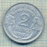 7516 MONEDA- FRANTA - 2 FRANCS - anul 1947 -starea ce se vede, Europa