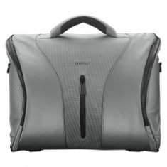 "SmartSuit 16"" Crossover - silver flamengo - Geanta laptop Trust, Geanta de umar, Nailon, Gri"