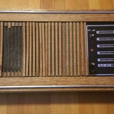 Radio Blaupunkt uppsala radio receptor anii 60 - 70 style vintage transistor - Aparat radio Philips, Analog
