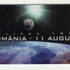 ROM 043 CARTELA ROMTELECOM ECLIPSA 1999 - Cartela telefonica romaneasca