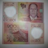 Insulele Capului Verde 200 Escudos 2014 UNC Polimer - bancnota africa