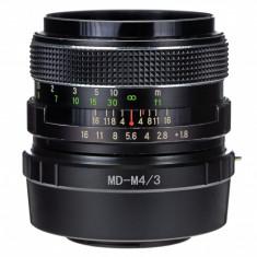 Adaptor m4/3 mft - Minolta MD MC pentru Olympus Panasonic - Inel adaptor obiectiv foto
