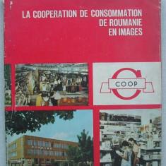 Cooperativa de Consum din Romania, in Imagini - CENTROCOOP - lb. franceza - Carte de publicitate