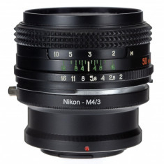Adaptor m4/3 mft - Nikon Ai pentru Olympus Panasonic - Inel adaptor obiectiv foto