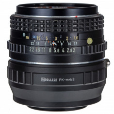Adaptor micro m4/3 mft - Pentax PK Quality pentru Olympus Panasonic - Inel adaptor obiectiv foto