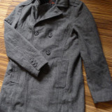 Palton Zara Man, marime L - Palton barbati, Marime: L, Culoare: Multicolor