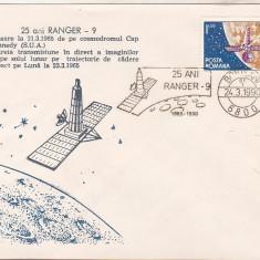 Bnk fil Plic ocazional Ranger-9 - Botosani 1990, Romania de la 1950, Spatiu