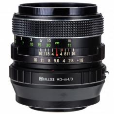 Adaptor m4/3 mft - Minolta MD MC (dolice) pentru Olympus Panasonic - Inel adaptor obiectiv foto