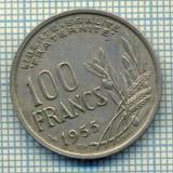 7509 MONEDA- FRANTA - 100 FRANCS - anul 1955 -starea ce se vede, Europa