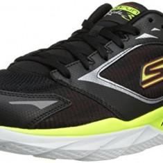 Adidasi/Tenisi Barbati Sketchers Go run 3 Nr.42.5 27CM interior - Adidasi barbati Skechers, Culoare: Negru, Textil