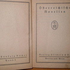Österreichische Novellen Besterr - CARTE IN LIMBA GERMANA ( 1910 ) - Carte in germana
