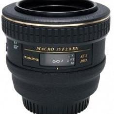 Tokina AF 35mm f/2.8 AT-X PRO DX pt NIKON AF - RS7805158 - Obiectiv DSLR Tokina, Macro (1:1), Nikon FX/DX