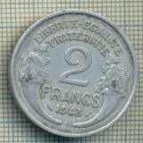7518 MONEDA- FRANTA - 2 FRANCS - anul 1948 B -starea ce se vede, Europa