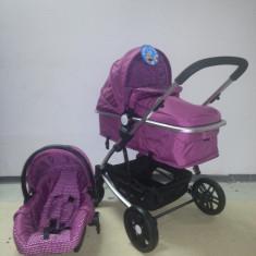 Carucior Baby Care 3 in 1 nou in cutie sigilat(cod YK 18-19) - Carucior copii 3 in 1 Baby Care, Roz