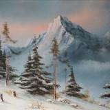 Peisaj montan - guasa - Pictor roman, Peisaje, Altul
