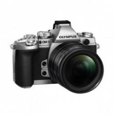 Olympus mirrorless OM-D E-M1 argintiu kit M.ZUIKO DIGITAL 12-40mm - Aparat Foto Mirrorless Olympus, Kit (cu obiectiv)