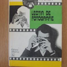 LECTIA DE FOTOGRAFIE- IOAN NEGREA - Carte Fotografie