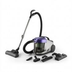 ONEconcept Aquapura aspirator cu apa, aspirare uscata/ umeda, filtru HEPA, Violet - Aspirator cu Filtrare prin Apa
