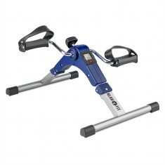 KLARFIT SPINMIN PRO MINI BIKE, aparat cu pedale pentru exerciții, display, rabatabil, culoare albastră - Bicicleta fitness
